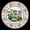 """Decorative tin plate """"The Personified flowers"""" The Violet"""