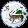 "Tin plate ""Bracquemond"" Lobster"