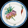 "Decorative tin plate ""Bracquemond"" Imperial fritillary"