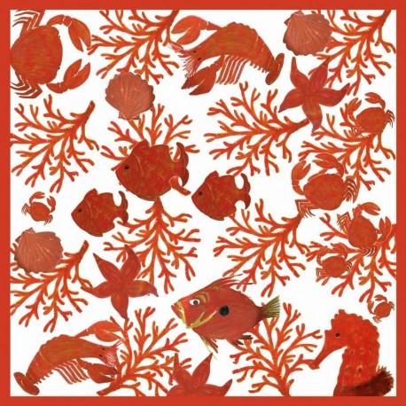 Serviettes papier collection Nemo 40x40 cm