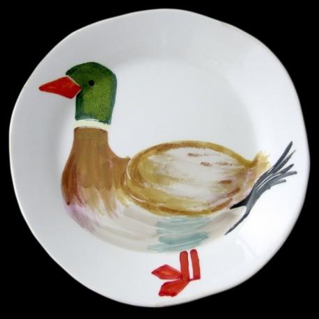 Canard Assiette de table D 28 cm