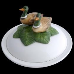 Ducks - dish deep plate