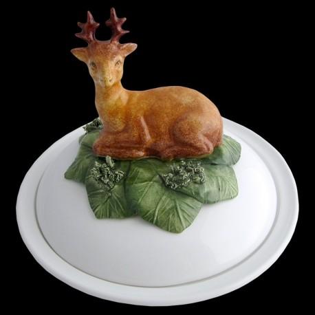 Deer - deep plate