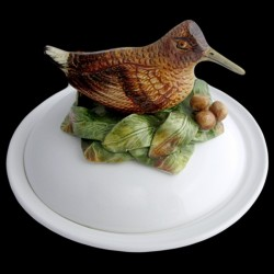 Woodcocks - deep plate