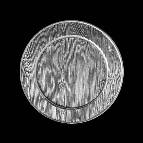 Wood bread plate