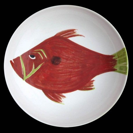 St Pierre grand plat creux saladier 38 cm