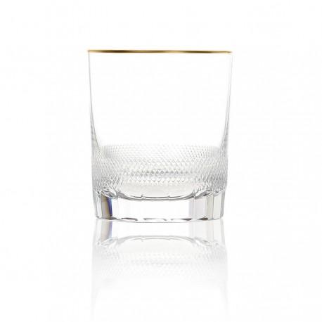 Verre à whisky en cristal. collection ROYAL