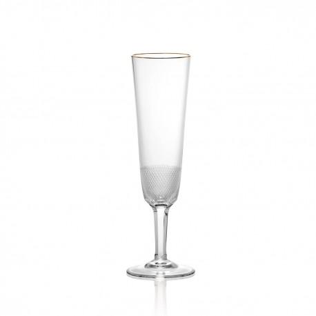Flute à champagne en cristal 180ml. collection ROYAL