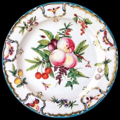 Assiette en tôle Duke of Gloucester