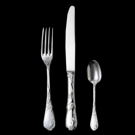 "Dessert spoon ""Tulipe"" silverplated"