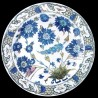 Decorative tin plate Iznik
