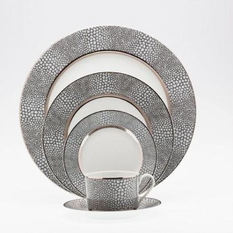 Assiette creuse D 23 cm Royal Limoges collection Makassar