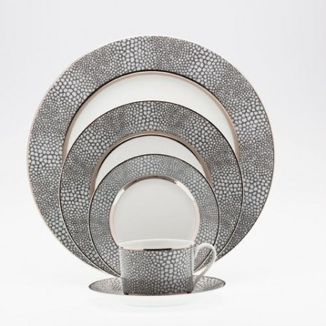 Assiette à pain D 16 cm Royal Limoges collection Makassar