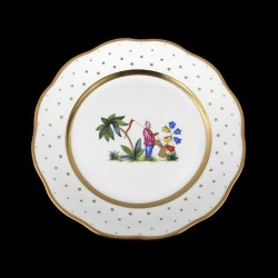 Classical plate of 26cm diameter/ character 4