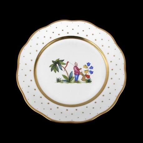 Classical plate of 26cm diameter/ character 4