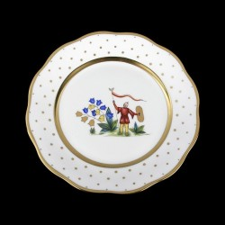 Assiette de table 26cm de diamètre/ personnage 5