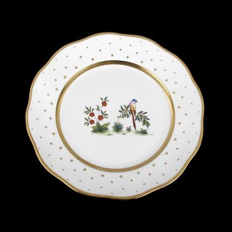 Classical plate of 26cm diameter/ bird 1