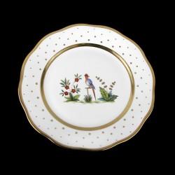 Classical plate of 26cm diameter/ bird 3