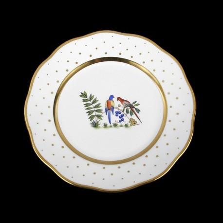 Assiette de table 26cm de diamètre/ oiseau 4