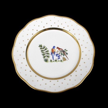 Classical plate of 26cm diameter/ bird 4