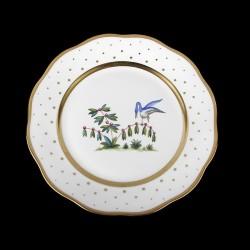 Classical plate of 26cm diameter/ bird 5