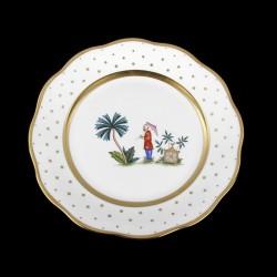 Assiette creuse de 25,5cm de diamètre/ personnage 5