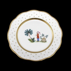 Soup plate of 25,5cm diameter/ character 5