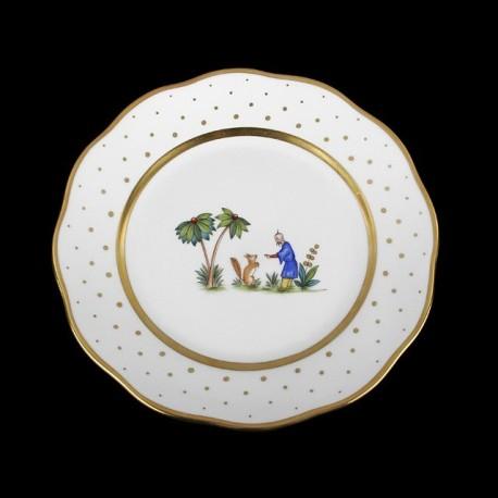 Assiette creuse de 25,5cm de diamètre/ personnage 6