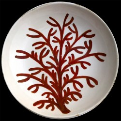 Coral- big round dish 38 cm