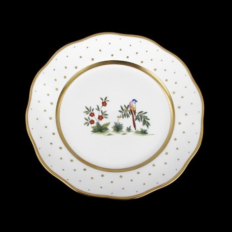 Soup plate of 25,5cm diameter/ bird 2