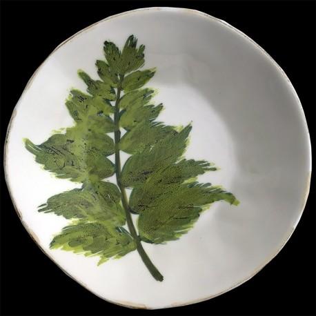 Fern - desert plate D 23cm