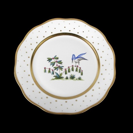 Soup plate of 25,5cm diameter/ bird 5