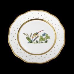 Assiette creuse de 25,5cm de diamètre/ oiseau 6