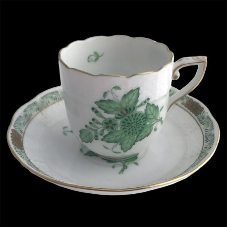 Coffee cup and saucer Apponyi
