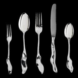 Silver table knife by Sebastian Menschhorn