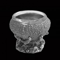 Urchin cup with inside glass