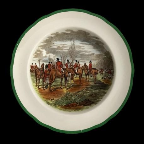 Deep plate Copeland hunting scenes Herring
