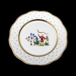 Desert plate of 23cm diameter/ character 2