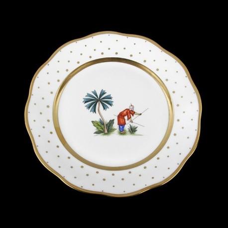 Desert plate of 23cm diameter/ character 4