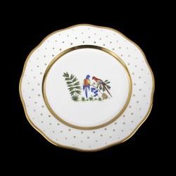 Desert plate of 23cm diameter/ bird 4
