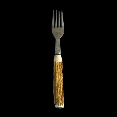 Deer antlers table fork