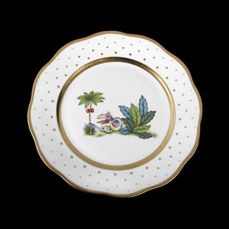 Salad plate of 21cm diameter/ bird 1