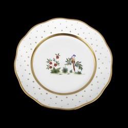 Salad plate of 21cm diameter/ bird 2