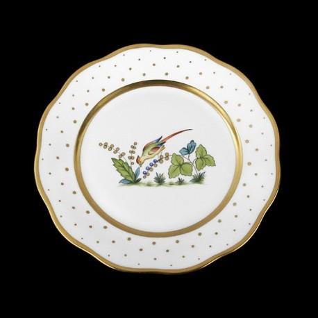 Assiettes à salade de 21cm de diametre/ oiseau 6