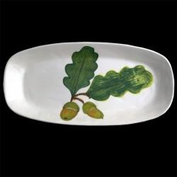 Acorn long dish 46x23 cm