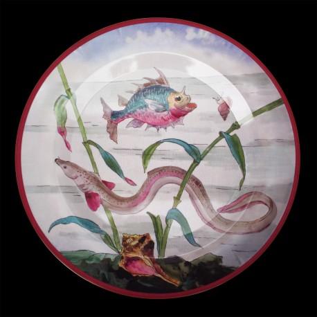 "Tin plate ""The Fantastic World"" Eel"