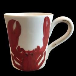 Majolica breton Lobster Mug