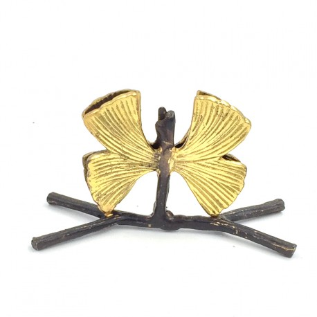 Porte-menu Brindille papillon