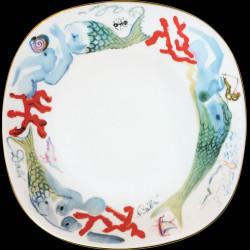 Dali service109 pièces n°577/1000 signé Dali 1978 porcelaine , skaÏ box