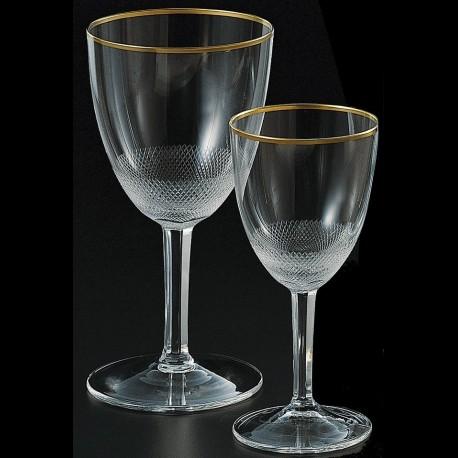 Verre à pied pour les vins doux 120ml en cristal. collection ROYAL